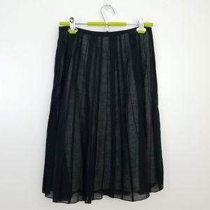 Nic + Zoe Sheer A-Line Skirt